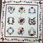 Traditional Applique and Quilting by hand - with Barbara