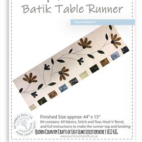 Batik Table Runner Kit