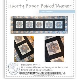 Liberty Paper Pieced Table Runner Kit