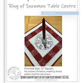Ring of Snowman Table Centre Kit