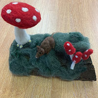 Needlefelting - with Gill