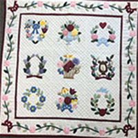 Hand Applique and Embroidery - with Barbara