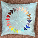 Turning Points Cushion - with Audrey