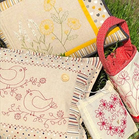 Stitchery and Hand Embroidery  Kits