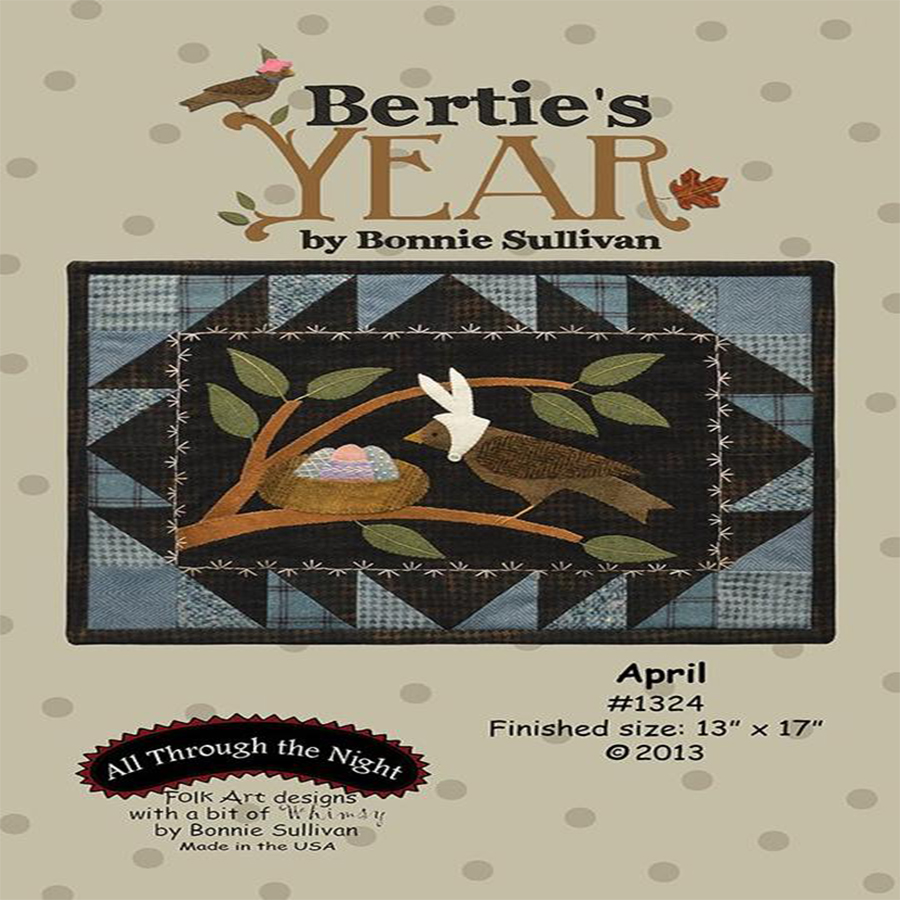 Bertie's Year - April Pattern