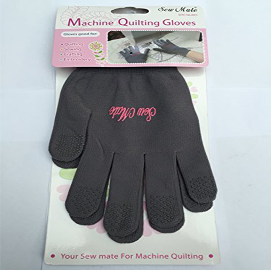 Sew Mate Machine Quilting Gloves.