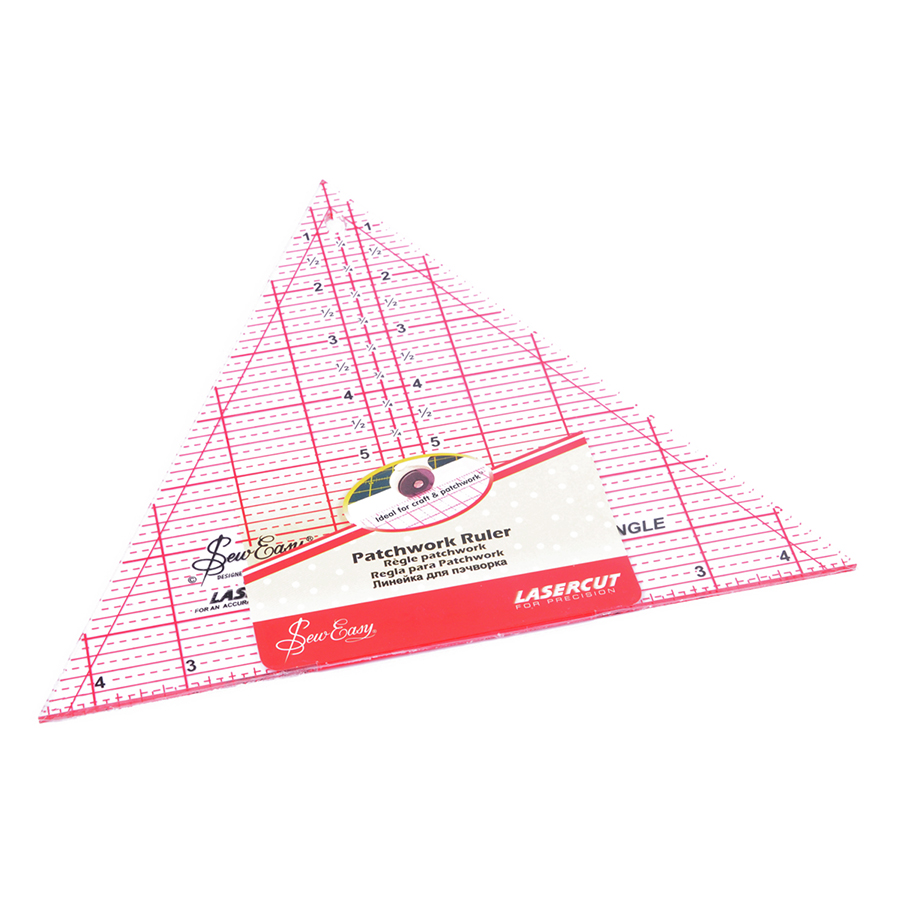 Sew Easy 60 degree triangle ruler.