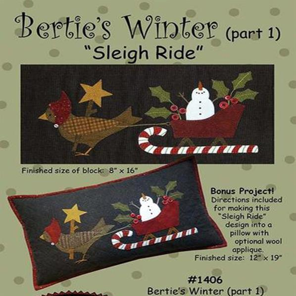 Bertie's Winter Part One - Sleigh Ride