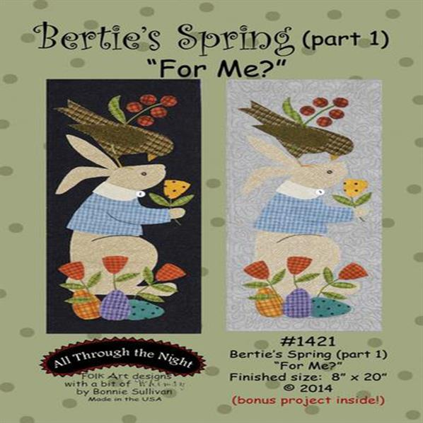 Bertie's Spring Part one - For Me