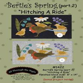 Bertie's Spring Part two - Hitching a Ride