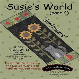 Susie's World Part 4 - Sunflowers