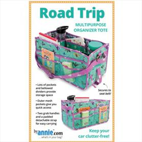 Road Trip Multipurpose Organiser Tote Pattern