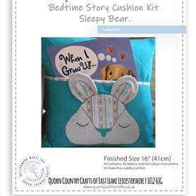 Bedtime Cushion Kit - Sleepy Bear