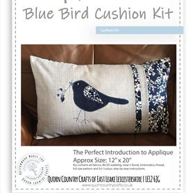 Blue Bird Applique Cushion Kit