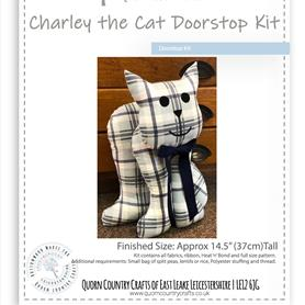 Charley the Cat Doorstop Kit