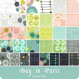 Moda Charm Pack - Day in Paris