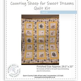 Counting Sheep for Sweet Dreams Quilt Kit