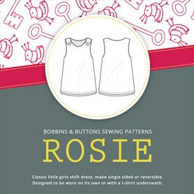 Bobbins and Buttons Dress Pattern - Rosie