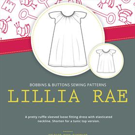 Bobbins and Buttons Sewing Pattern - Lillia Rae