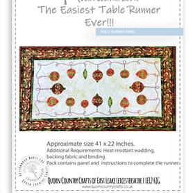 The Easiest Table Runner Ever!!