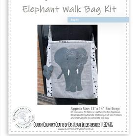 Elephant Walk Bag Kit OUT OF STOCK - MORE STOCK COMING SOON