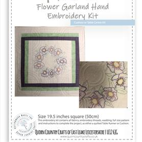 Flower Garland Hand Embroidery Kit