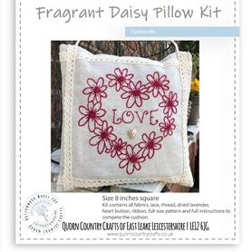 Fragrant Daisy Pillow