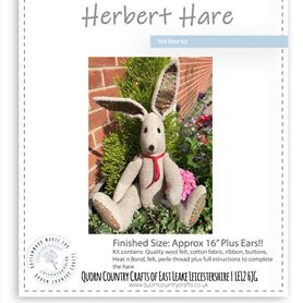 Herbert Hare - Felt Bear Kit