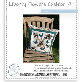 Liberty Flowers Cushion Kit