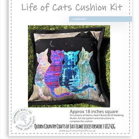 Life of Cats Cushion Kit