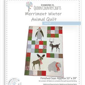 Merriment Winter Animal Quilt Kit