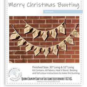 Merry Christmas Bunting Kit