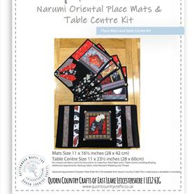 Narumi Oriental Place Mats & Table Centre Kit