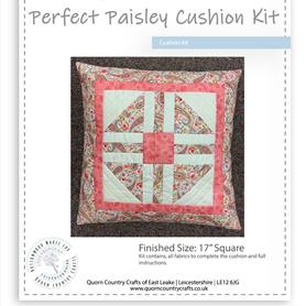 Perfect Paisley Cushion Kit