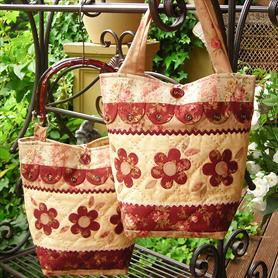 Rivendale Dilly-Dally-Daisy Bag Pattern