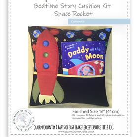 Bedtime Cushion Kit - Space Rocket