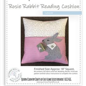 Rosie Rabbit Reading Cushion Kit