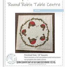 Round Robin Table Centre Pattern