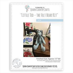 Little Ted - The Felt Bear Kit
