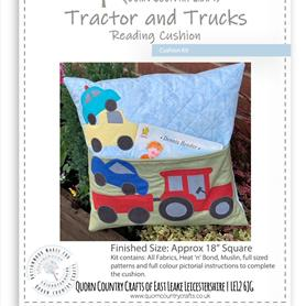 Tractor and Trucks Reading Cushion Kit