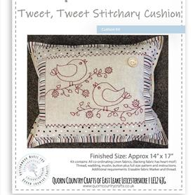 Tweet, Tweet Stitchery Cushion Kit
