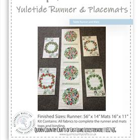 Yuletide Table Runner and Placemats Kit
