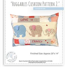Huggables Cushion Pattern 2