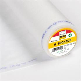 Vileseline Interfacing - Lightweight - Iron On - White
