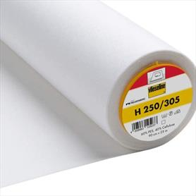 Vileseline Interfacing White - Firm - Iron On