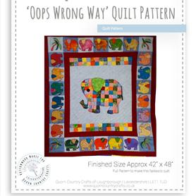 Oops Wrong Way Quilt Pattern